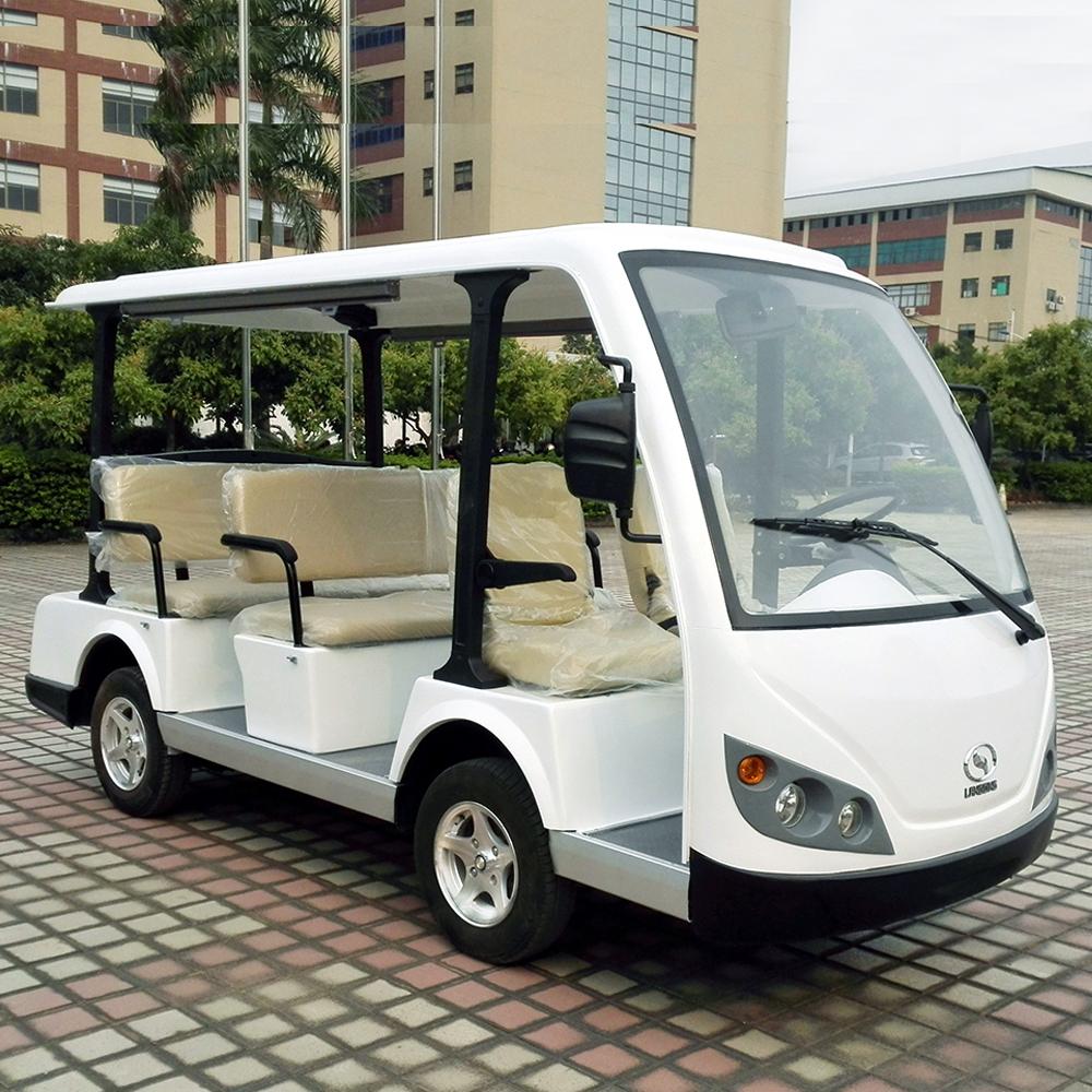 八座电动观光车LQY083A