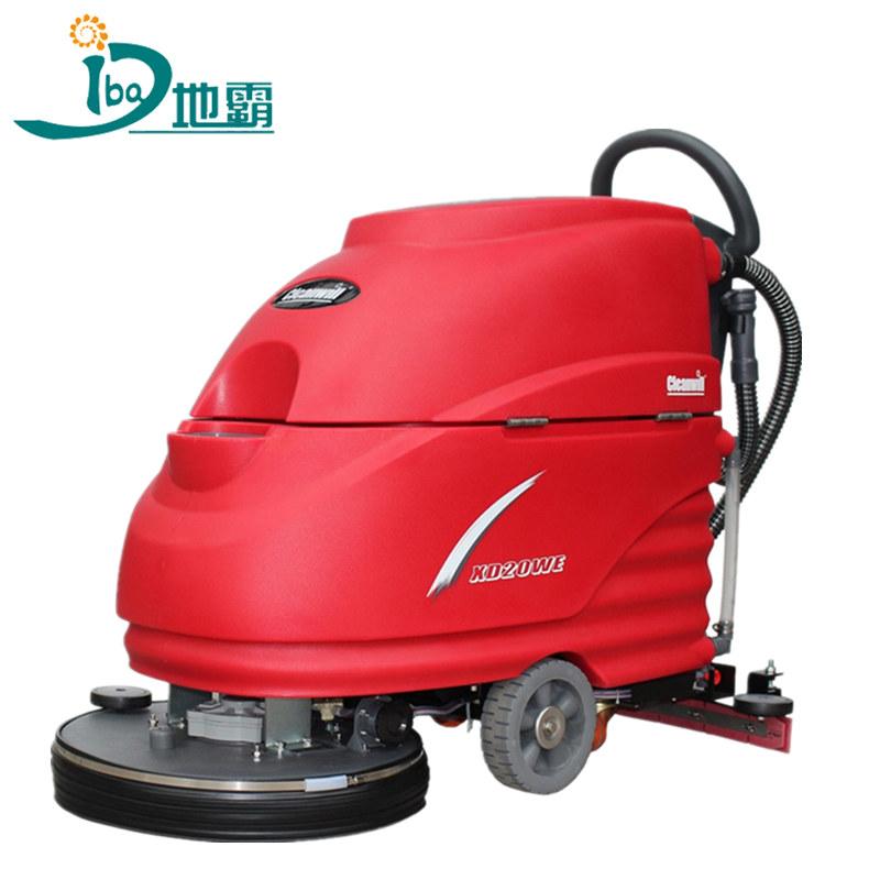 全自动洗地机对食堂地面清洁优势