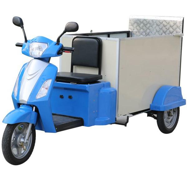 电动2桶三轮清运车DHWQY-12