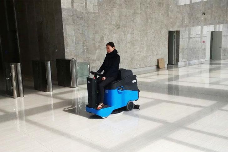 万达中心清洁Gadlee嘉得力GT70洗地机