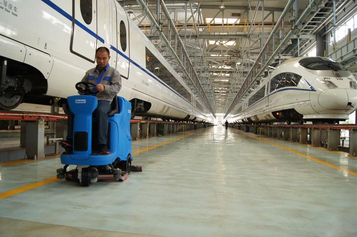 车间清洁GT115嘉得力洗地机