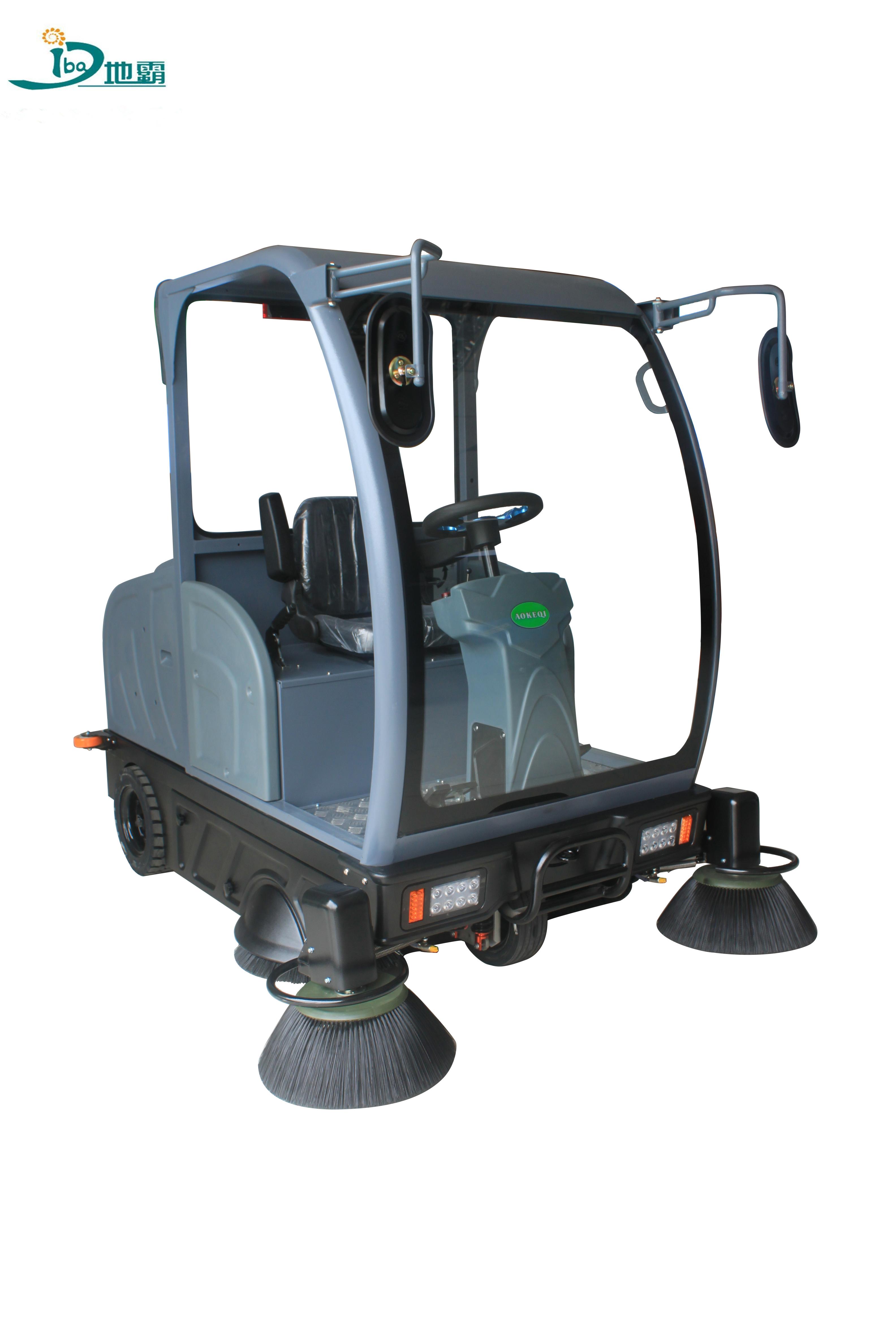 半封闭中型驾驶式扫地机OS-V4